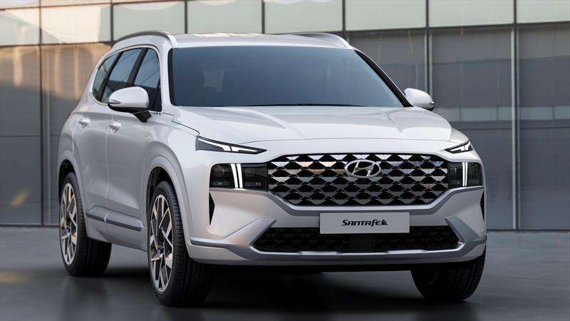 La nueva Hyundai Santa Fe muestra grandes modificaciones