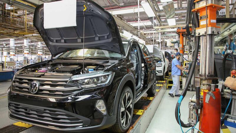 Volkswagen extiende vacaciones en la fábrica del Nivus por la escasez de microchips