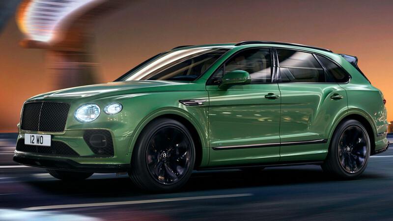 Bentley Bentayga 2021 recibe facelift