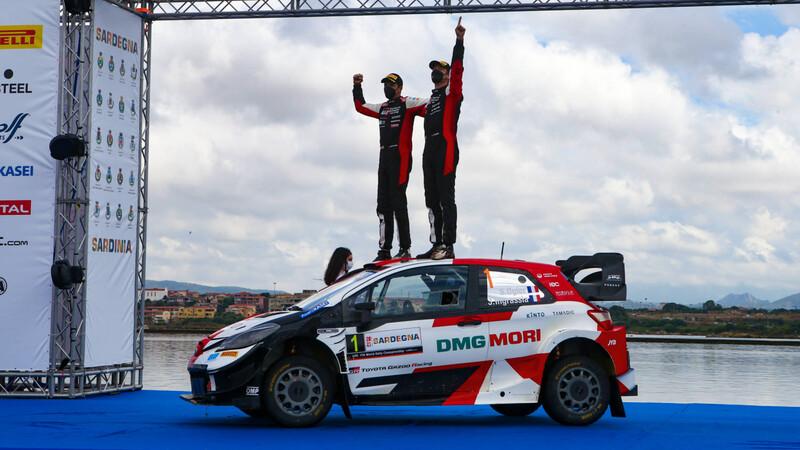 Ogier saca provecho de los errores de Hyundai en el Rally de Cerdeña 2021