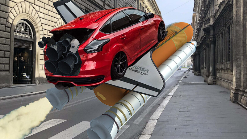 Increíble: Un Ford Focus que supera los 700 km/h