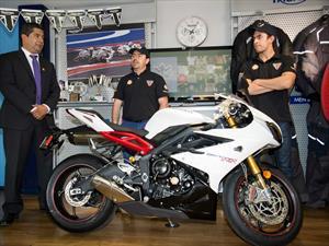 Shell oficializa su alianza con las motocicletas Triumph