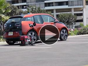 Otra forma de cargar tu BMW i3 2015