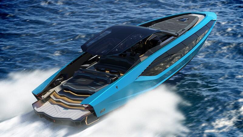 Tecnomar by Lamborghini 63' es un super yate con 4,000 caballos de fuerza