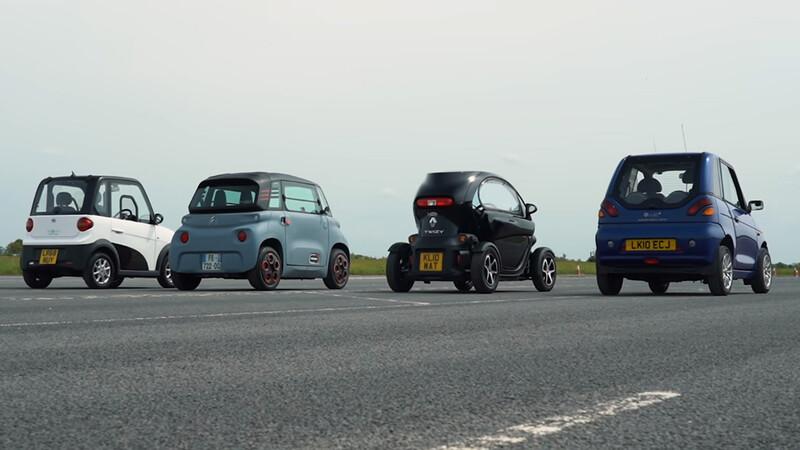 ¿Cuál es el auto eléctrico más lento?