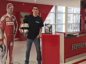 Shell premió al ganador de su simulador de Fórmula 1