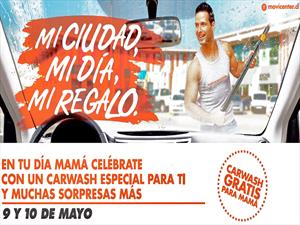 Movicenter celebra a las madres con Car Wash pensado para mujeres