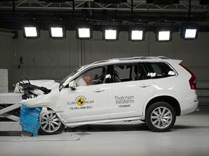 Volvo XC90 2016 obtiene cinco estrellas en las pruebas de impacto de la Euro NCAP