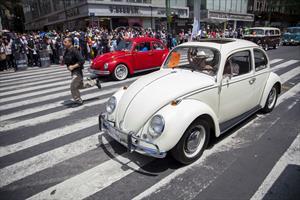 La Caravana Volkswagen recorre las calles de la Ciudad de México