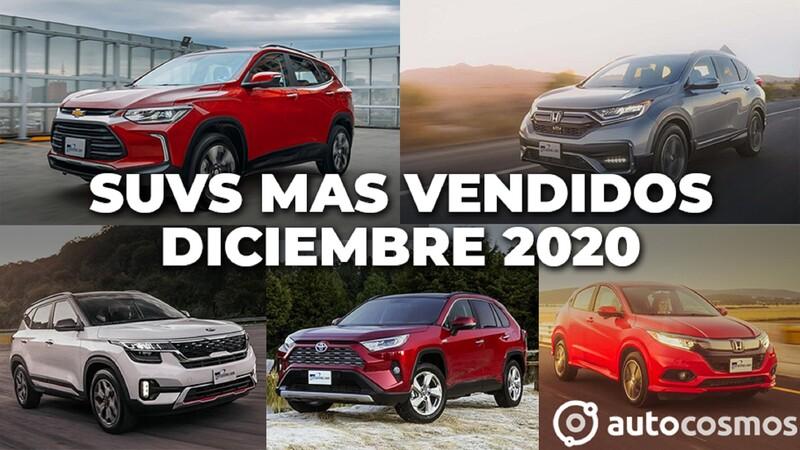 Los 10 SUVs más vendidos en diciembre 2020