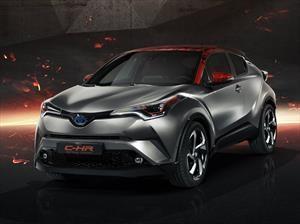 Toyota C-HR Hy-Power Concept adelanta la versión híbrida del C-HR