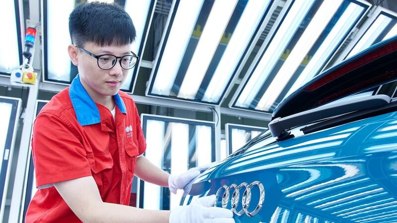Audi suma otra empresa en China dedicada a la movilidad eléctrica