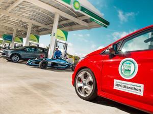 Ford Fiesta ST 2015 gana maratón de eficiencia de combustible