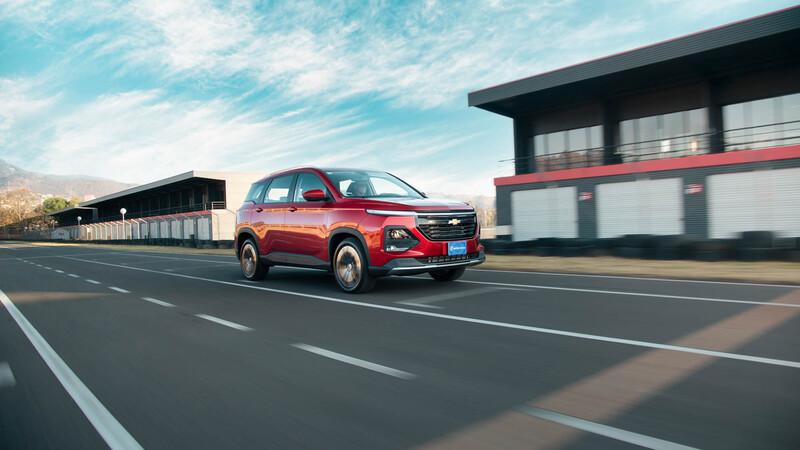 Chevrolet Captiva 2022 a prueba, desempeño y confort para viajar con la familia