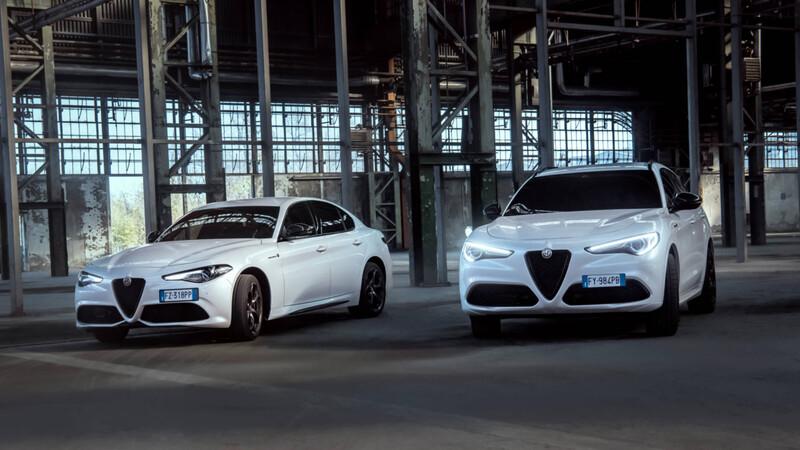 Alfa Romeo Stelvio y Giulia Veloce Ti 2021 se presentan
