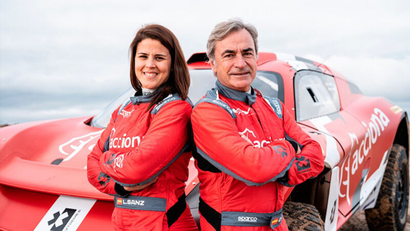 Carlos Sainz y Laia Sanz competirán en la Extreme E con su propio equipo