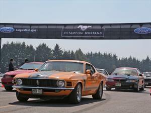Desfile de Mustangs más grande del mundo saca Record Guinness