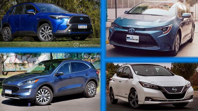 ¿Cuáles son los autos híbridos y eléctricos más vendidos en Argentina?