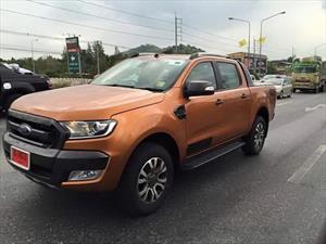 Captan al rediseño de la Ford Ranger 2016