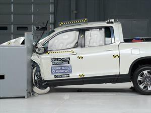 Honda Ridgeline 2017 es la pickup más segura según el IIHS