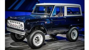 La restauración de este Ford Bronco 1968 incluye el poderoso V8 del Mustang Shelby GT500 2020