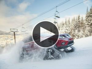 Nissan Rogue Warrior, el vehículo ideal para el invierno