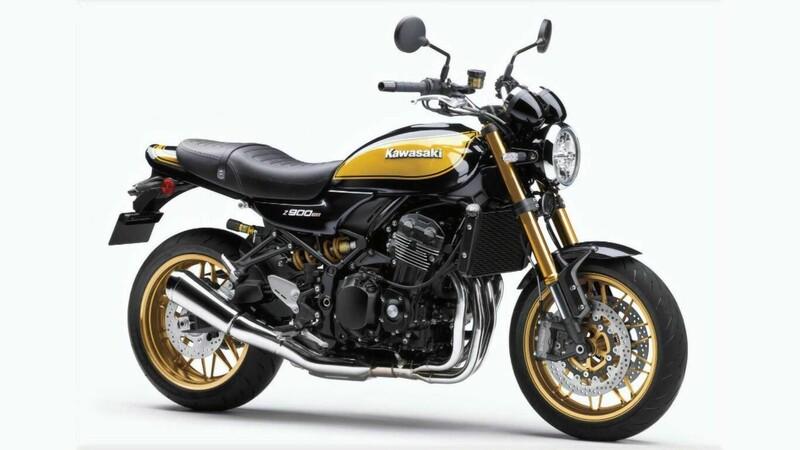 Kawasaki cambia de color a oro y negro a su Z900RS