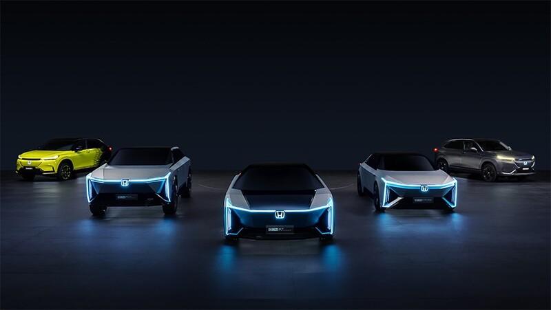 Honda presenta en China su nueva familia de autos eléctricos
