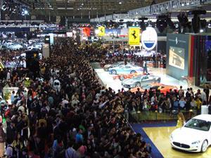 Salón de Shanghai 2015 prohíbe la entrada a niños