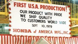 Honda celebra 40 años de producción de vehículos en Estados Unidos