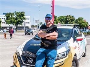 De Asia a Europa a bordo de un Nissan LEAF