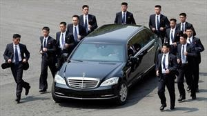 Los Mercedes-Benz de Kim Jong-um llegaron Corea a pesar de bloqueos económicos