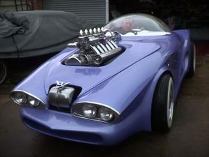 Cosmotron Car, el Z3 que pudo ser el auto de Los Supersónicos