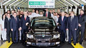 Skoda produce unidad 14 millones