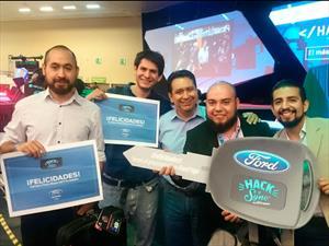 """Estos son los ganadores del reto """"Hack 'n' Sync con Ford Applink"""""""