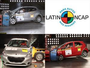 Latin NCAP testea los Kia Morning y Peugeot 208