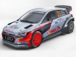 WRC Hyundai presenta el i20 para el 2016