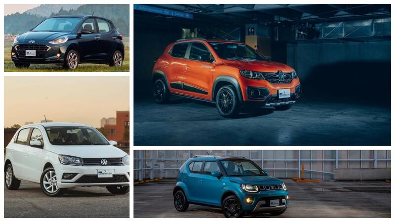 Los 10 autos más baratos en México para 2021