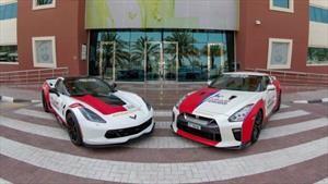 Dubái agrega un Nissan GT-R y un Chevrolet Corvette Grand Sport a su servicio de ambulancias