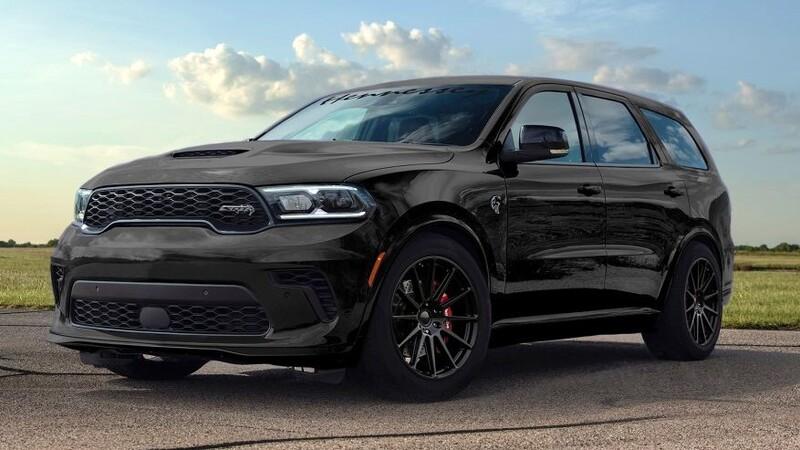 Hennessey Performance impone más de 1,000 hp a la ya poderosa Dodge Durango SRT Hellcat 2021