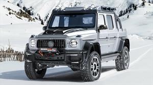 Brabus 800 Adventure XLP es un poderosísimo Clase G convertido en pickup