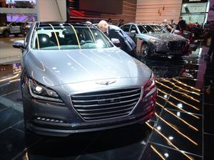 Hyundai Genesis G80 2016 debuta