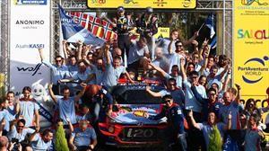 WRC 2019: Hyundai Motorsport logra su primer título de constructores