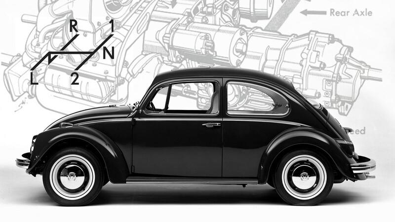 Volkswagen Autostick, el Escarabajo semiautomático que se adelantó al tiempo