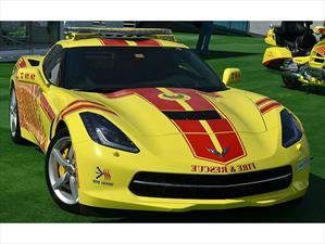 Fuego con fuego: Los bomberos de Dubái utilizan Chevrolet Corvette