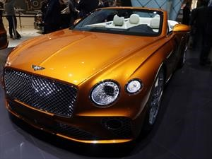 Bentley Continental GT Convertible 2020, lujo al aire libre