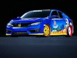 Honda Sonic Civic, homenaje al erizo azul de Sega