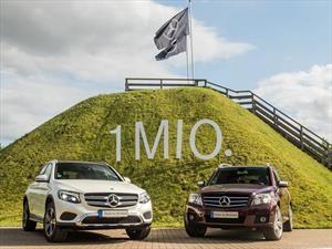 La Mercedes-Benz GLC ya llegó al millón de ventas