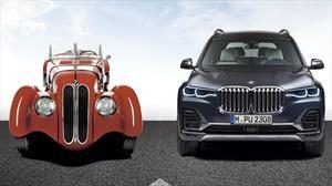 De menos a más, la evolución de la parrilla doble riñón de BMW