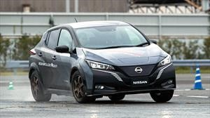 Nissan crea sistema de tracción total para carros eléctricos